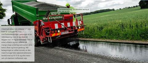 NCC Asfalt - Overfladebelægning - En stensikker løsning til dine veje og stier