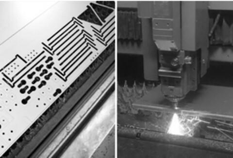Fiberlaser er den absolut fremmeste teknologi indenfor skæring i tyndplade.  - Fiberlaser er den absolut fremmeste teknologi indenfor skæring i tyndplade.