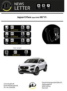 Jaguar E-Pace\nDragkrok frän GDW