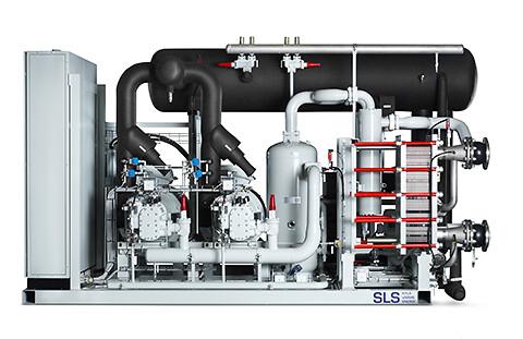 Industrikyla och värme    SLS bygger kyl och frysaggregat och värmepumpar