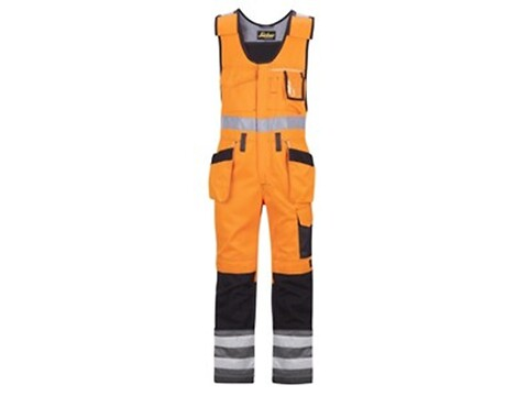 Helbuks m/hylsterlommer high-vis orange - str. 46