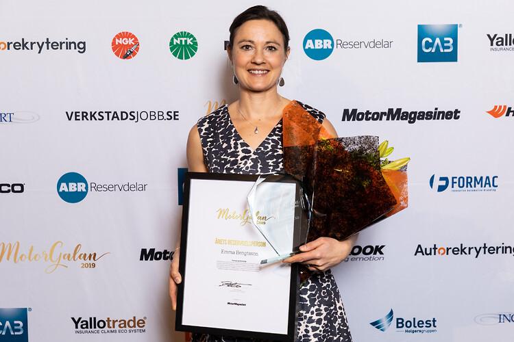 Emma Bengtsson, HBA Fordonsteknik