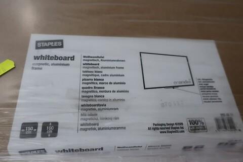 2 stk. whiteboards staples - 150x100 cm.
