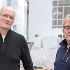 Frontmatec har valgt 4 Modula Lift lagerautomater til effektivisering af lageret. Logi Einarsson og Kim Myrwick