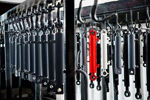 Närmare 50.000st cylindrar lämnar Melin & Carlsson varje år.