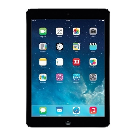 Apple iPad Air 16GB WiFi + Cellular (Space Gray) - Grade C - tablet