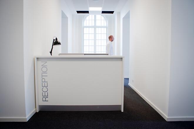 receptionsindretning receptionsdisk skranke reception