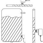 Tryksensor fra EGE-Elektronik type DN752