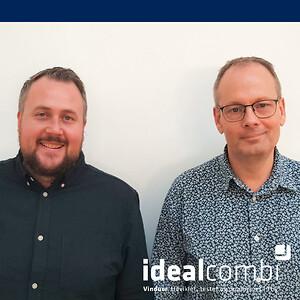 Theiss Hagelberg (TV) og Torben Bang Nielsen (TH) - Idealcombi A/S