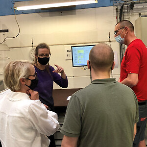 Sanovo Technology Group besøger Mirit Glas.