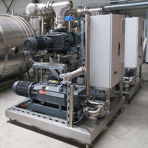 Busch Vakuumteknik vakuum system