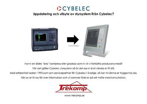 Vi hjälper er med uppdatering och utbyte av Cybelec styrsystem!