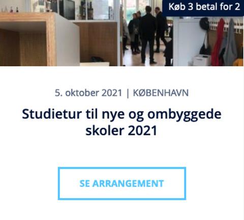 Studietur til nye og ombyggede skoler 2021 - Studietur til nye og ombyggede skoler 2021 - Nohrcon
