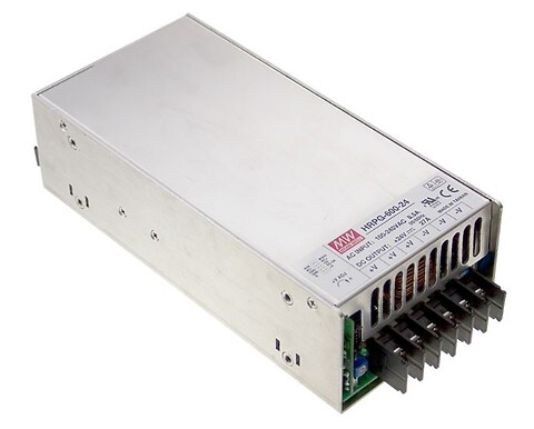 600W AC/DC strømforsyning til Industri og Elektronik -- Power Technic - HRP-600 og HRP-600N AC/DC strømforsyning fra MEAN WELL. Forhandler er Power Technic. Ring 70 208 210
