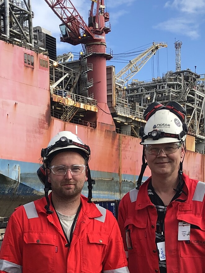 Noble Installation, Jotun FPSO
