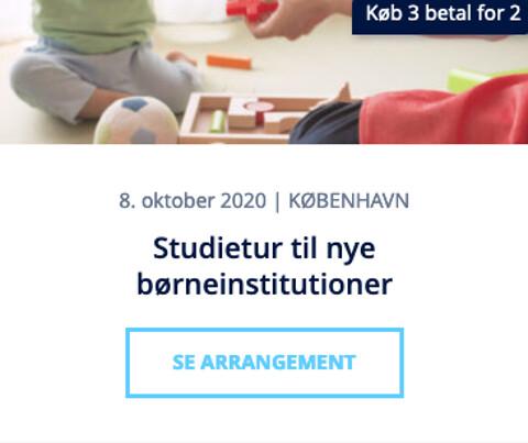 Studietur til nye børneinstitutioner 2020 - Studietur til nye børneinstitutioner - Nohrcon