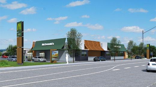 Casa skal bygge ny mcdonald s i horsens building supply dk for Casa mcdonald