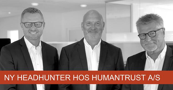 Claus Hein Ruggaard er ansat som Headhunter hos HumanTrust A/S