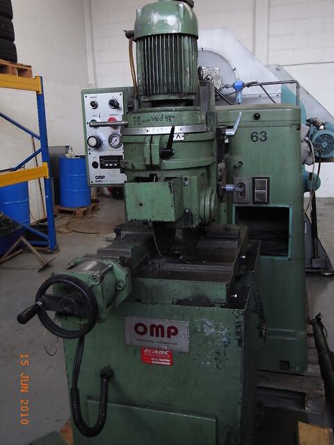 Maskin nr.: 1064 1986/88 - OMP Rundsav