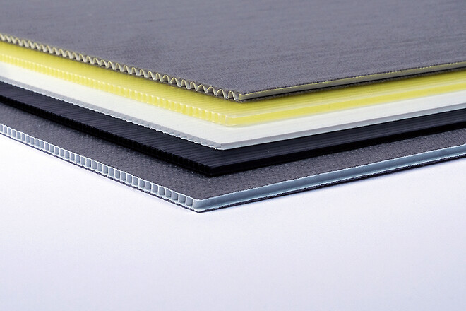 Wellplast corrugated plastic