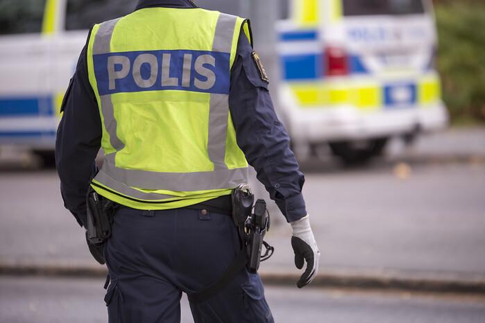 Polis tror pa brott bakom dodsbrand