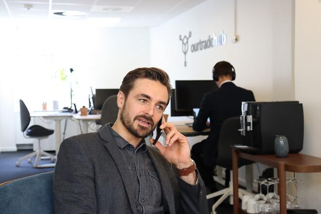 Jonas Midtgaard, CEO hos Our Tradehub
