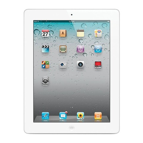 Apple iPad 3 64GB WiFi + Cellular (Hvid) - Grade B - tablet