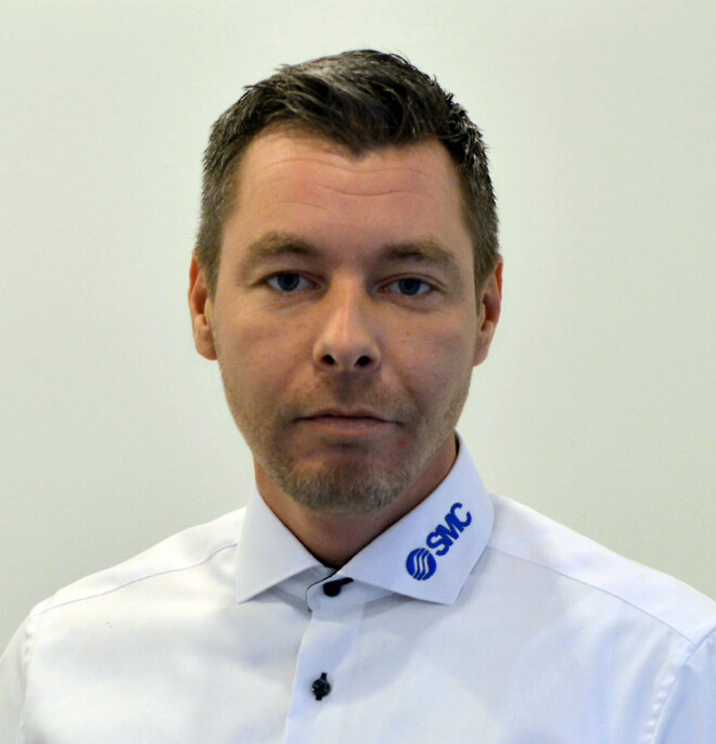 Jesper Damgaard, salgsingeniør, SMC Danmark A/S
