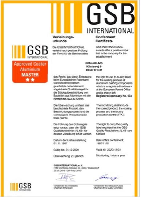 GSB-certifikat