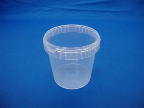 Plastbøtte 5131 - 1180 ml.- klar