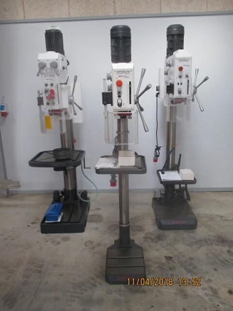 Nye optimum boremaskiner sælges