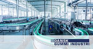 Gummi og polyurethan til maskinindustrien Dansk Gummi Industri