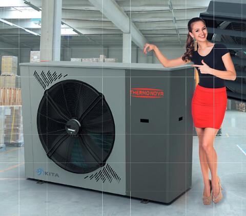 Industri luft-luft giver billig varme