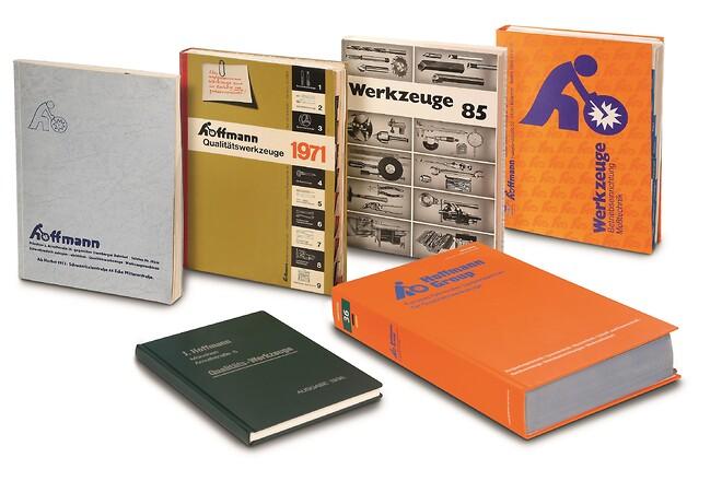 Hoffmann-Kataloget blev bearbejdet flere gange i løbet af årene. I dag udkommer det på 18 sprog og  står til rådighed i eShop på internettet.