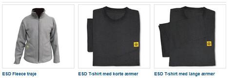 ESD beklædning