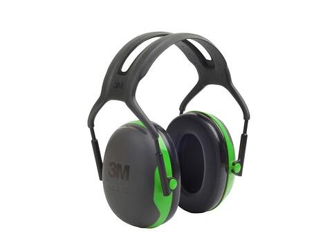 Høreværn peltor X1 - grøn - 3M