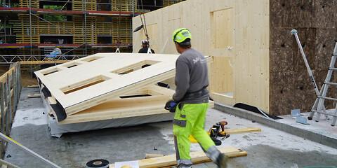 Træbyggeri med CLT - CLT