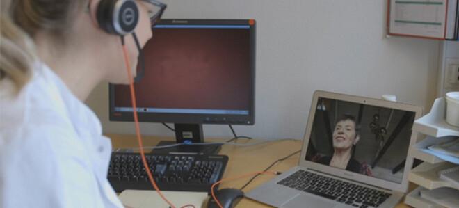 videokonsultation, skærmbesøg