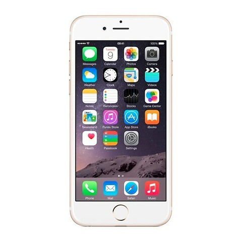 Apple iphone 6 plus 16GB (guld) - grade b - mobiltelefon