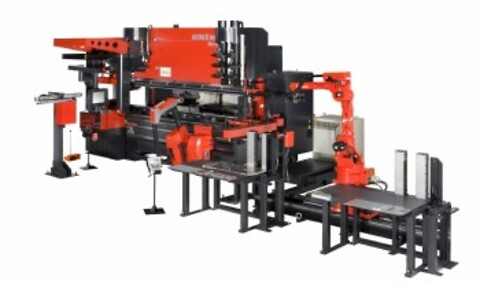 Amada Astro II 100 NT cell robot knekkecelle