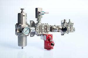 Oil-Gas Atex valve,  Schermata, Automatik, KH-Technic, Pneumax, ATEX