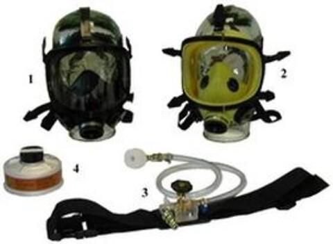 Trykkluftforsynt helmaske Panoramasque fra Vestec
