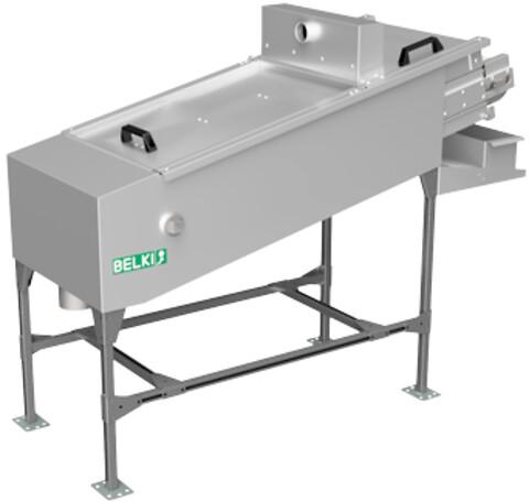 BELKI 3.10 A - BELKI automatisk magnetfilter type 3.10A til finfiltrering af væsker med partikler fra slibning og støbejernsbearbejdning. Automatisk renholdelse af filterfladen.