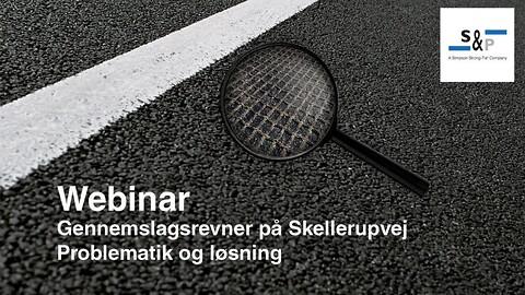 S&P Reinforcement Asfaltarmering - Gennemslagsrevner på Skellerupvej – Problematik og løsning