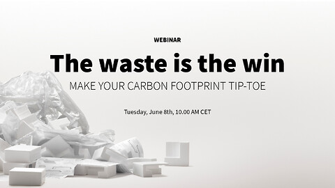 ♻Pure Materials webinar: The waste is the win ♻ Tirsdag d. 8/6 kl. 10.00-10.30 CET