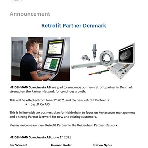 Bast & Co. Heidenhain retrofit Partner