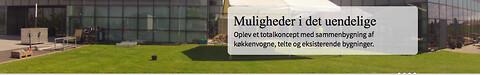 Topprofessionelt storkøkken klar på en time fra Dansk Mobil Køkken.