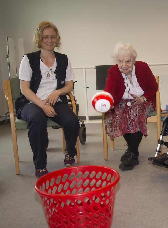 Aktivitet på plejecenter