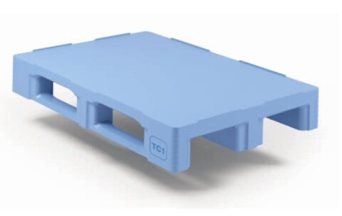Craemer pll TC1 m/3 meder m/kant - lysblå