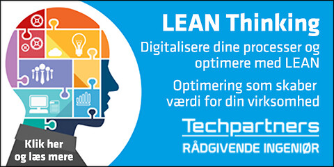 Techpartners digitalisere processer og optimere med LEAN - digitalisere processer og optimere med LEAN